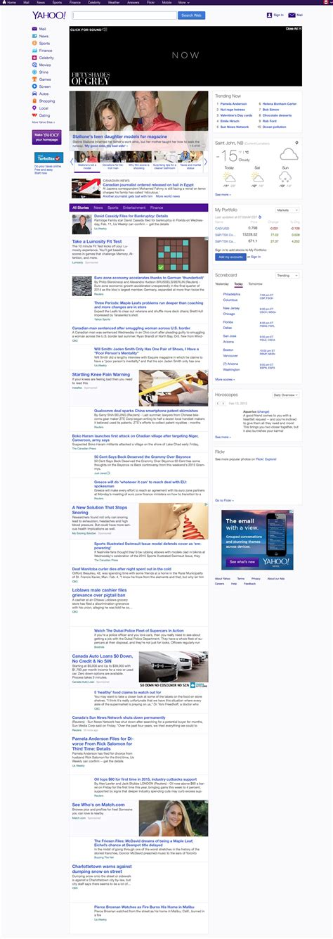 Yahoo New Layout 2015 | website design how far we ve come the pridham group