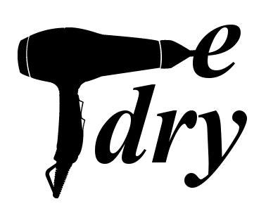 Hair Dryer Logo edrybar pittsburgh hair spa 412 447 1775
