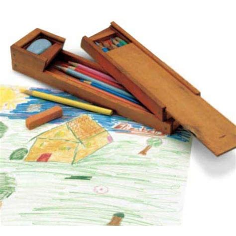 wooden pencil holder plans woodworker s journal artist s pencil box plan rockler