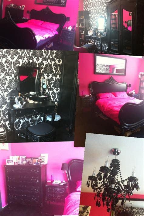 hot pink wallpaper for bedroom 23 best victoria s secret boudoir furniture images on