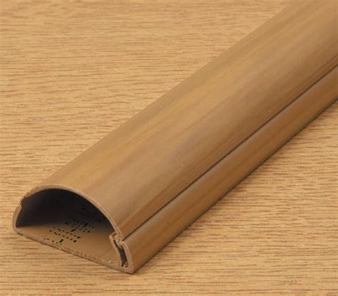 D Line Mini Trunking 30mm x 15mm Wood Self Adhesive