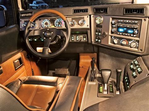 Interior Hummer H1 by 2006 Hummer H1 Interior From Quot A Quot To Quot B Quot