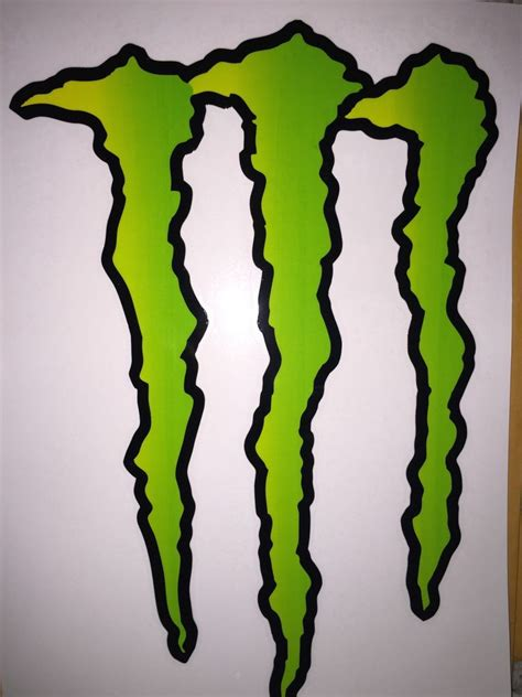 Monster Energy Army Sticker by The Gallery For Gt Monster Army Logo