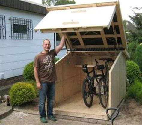 Bike Shed Ideas by 17 Best Ideas About Bike Storage On Bicycle