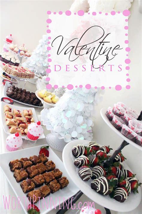 worth pinning valentine mini dessert party