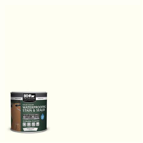 behr solid color waterproofing wood stain behr premium 8 oz base solid color waterproofing