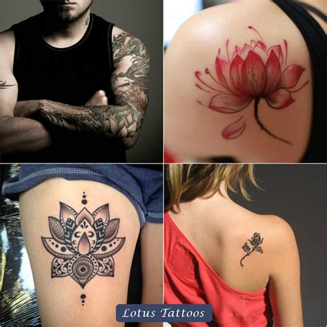 various tattoo designs different designs of tribal lotus tattoos and their