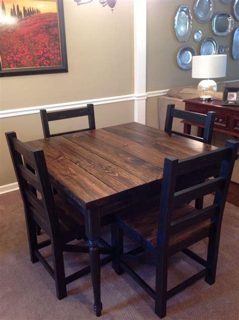 simply southern home decor square farmhouse table by simply southern home decor