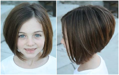 a line kid cut kids stacked haircut short hairstyle 2013