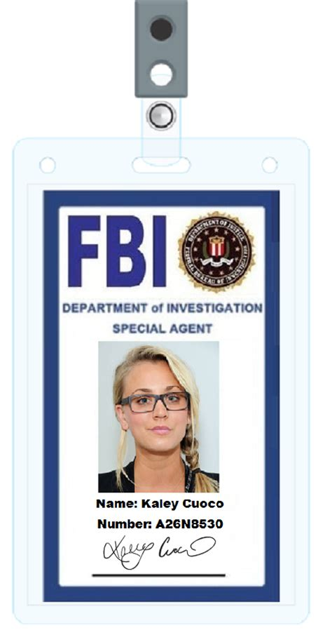 fbi id card template 5 best images of id cards templates printable fbi