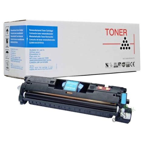 Chip Toner Cartridge Hp C9701a Cyan compatible hp c9701a cyan toner cartridge