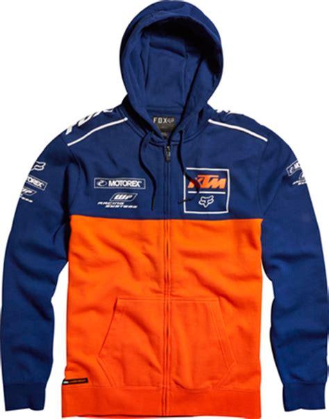 Vest Zipper Ktm Ready To Race aomc mx 2014 ktm fox replica zip fleece