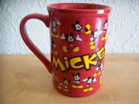 Mug Keramik Tema Mickey Mouse disney mickey mouse coffee mug mugs glasses