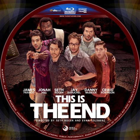 this is the this is the end custom dvd labels this is the disc 2013apr dvd covers