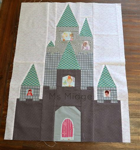 Castle Quilt by Fairytale Castle By Ms Midge Via Flickr Pattern By