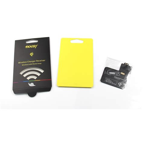 noosy wireless charger receiver for samsung galaxy note 2 gt n7100 ns02 black