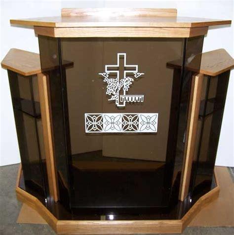 acrylic church podiums