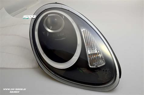 led len kaufen sw ltube headlights for porsche cayman boxster 987 05 08
