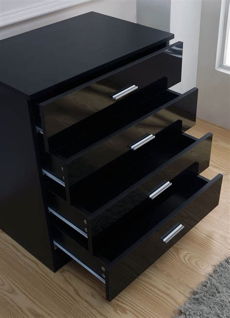 black high gloss bedroom furniture mirrored black high gloss 3 bedroom furniture set
