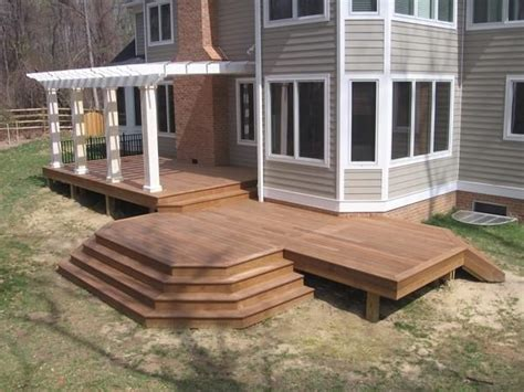 simple wood deck 17 best images about decks on wood decks