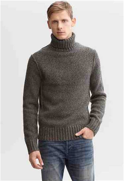 16689 Brown Turtle Neck Sweater best turtleneck sweaters s turtleneck sweaters
