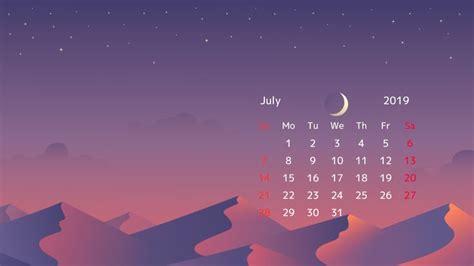 july  calendar desktop wallpapers calendar wallpaper