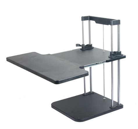 Computer Standing Desks Lifter Sit Stand Desk Two Level Adjustable Standing Computer Desk