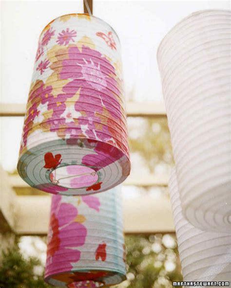 How To Make Paper Lanterns Martha Stewart - paper lanterns martha stewart
