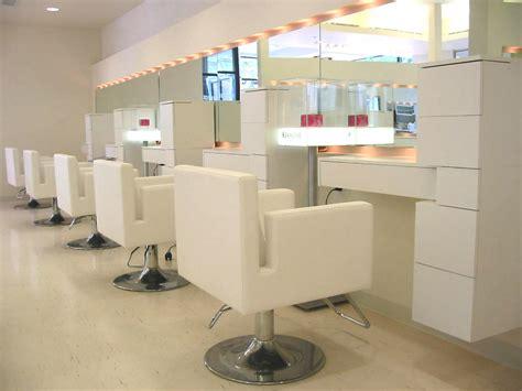 salon mirrors with lights salon station lighting spa style s blog