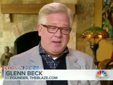 glenn beck on the right i warned about and now it s