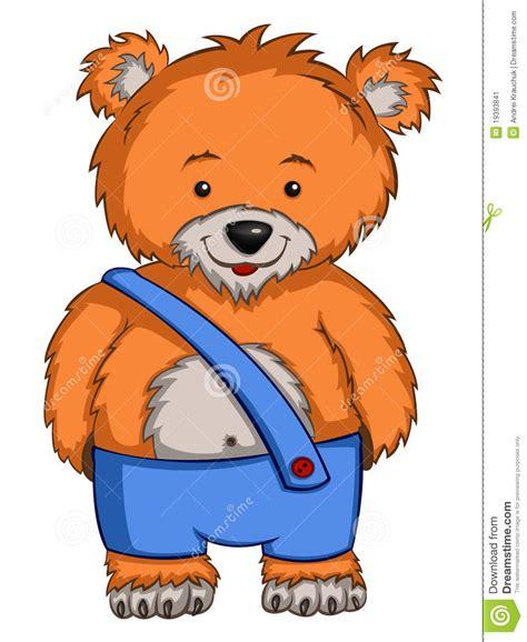 imagenes animados de osos oso del personaje de dibujos animados imagen de archivo