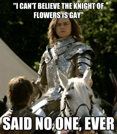 Meme Florist - knight of flowers memes quickmeme