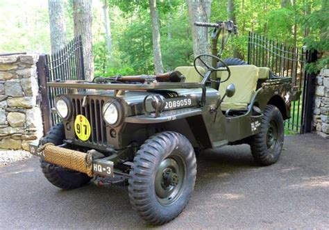 willys army jeep fully restored 1952 willys army jeep auto restorationice