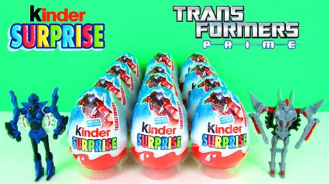 Transformers Egg Attack Optimus Prime Original kinder eggs transformers prime toys optimus prime vs megatron huevos sorpresa