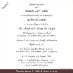 Words For Wedding Invitation Wedding Invitation Wording Samples 21st Bridal World