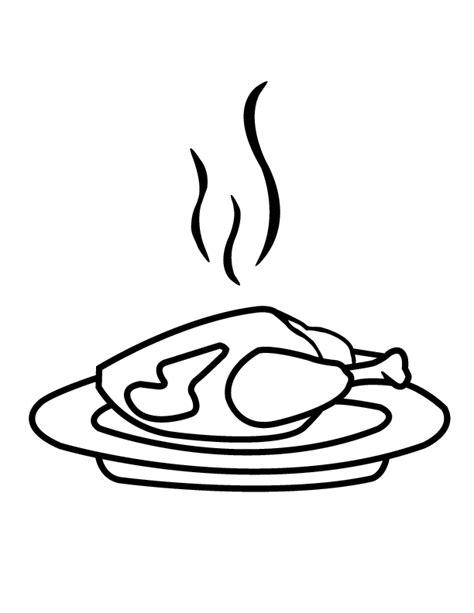 chicken dinner coloring page chicken dinner coloring page coloring pages for free