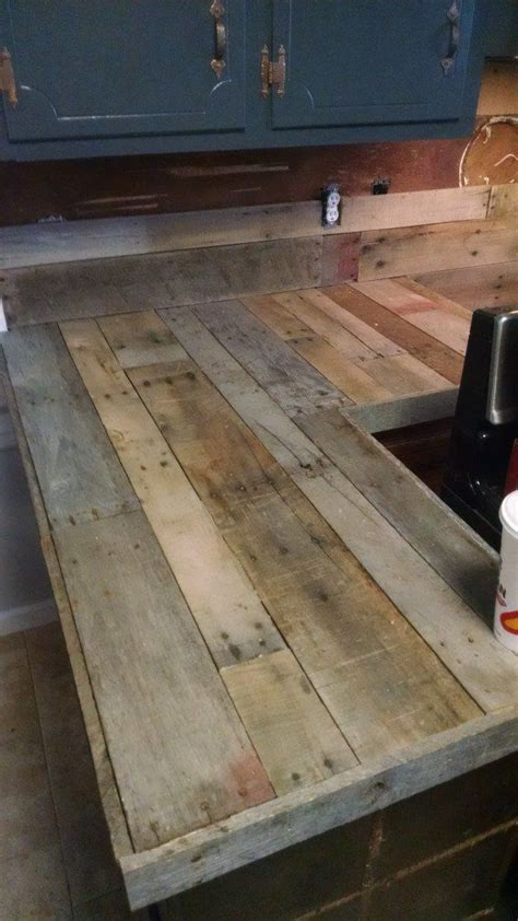pallet bar top 25 best ideas about diy wood countertops on pinterest