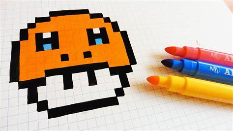 Handmade Minecraft - handmade pixel how to draw charmander