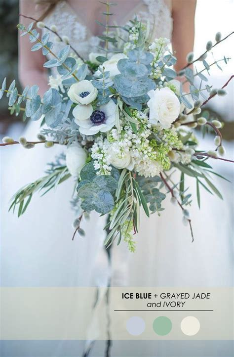 5 winter wedding color palettes the palette
