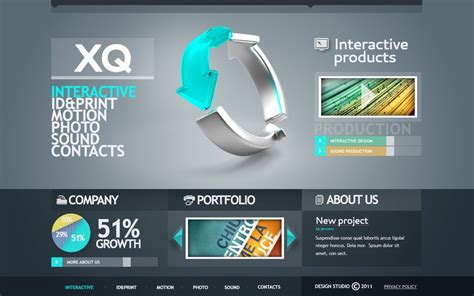 design studio templates design studio flash template 35402