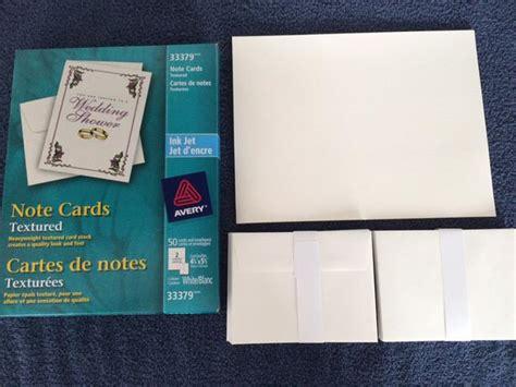 inkjet printable note cards avery textured inkjet note cards north regina regina