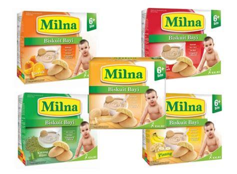 Milna Biskuit Bayi Rasa Original detil produk milna biscuit bayi 6 130 gr