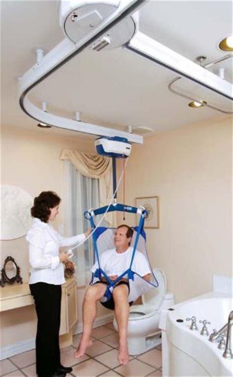 ceiling track patient lift