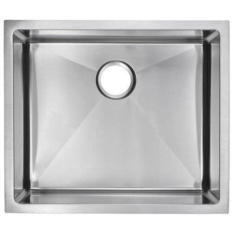 satin finish stainless steel kitchen sinks water creation undermount small radius stainless steel