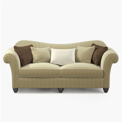 Rolled Arm Sofa by Baker Rolled Arm Sofa Max