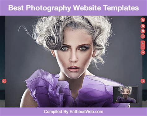 Best Photography Website Templates Entheos Best Photography Website Templates