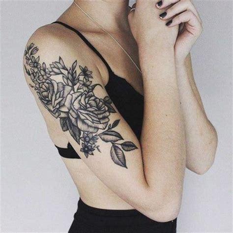 tattoo design braso tatuagens de flores no ombro para mulheres que amam bela