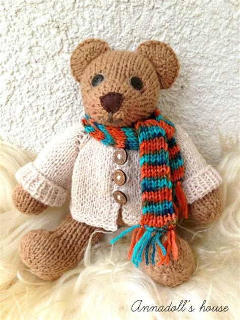 knitted teddy 1000 images about teddy bears on
