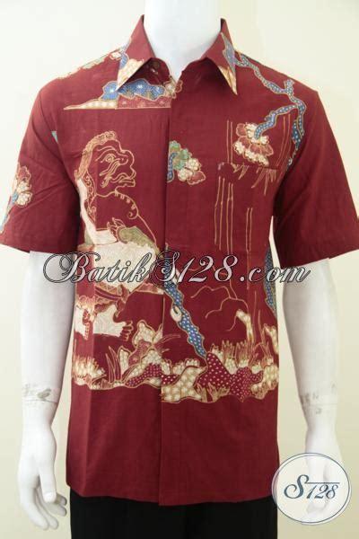 Jual Batik Semata Wayang jual batik wayang motif semar warna merah ld1753t l toko batik 2018