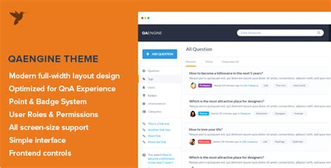 wordpress theme question answer 15 question and answer wordpress themes free templates